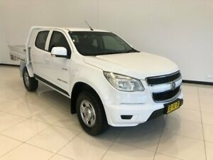 2014 Holden Colorado RG MY14 LX Crew Cab White 6 Speed Sports Automatic Cab Chassis Macksville Nambucca Area Preview