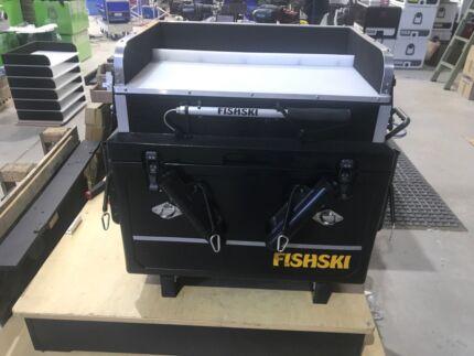 Fishski box for jetski