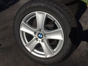 BMW X5 RIMS with Winter Tires