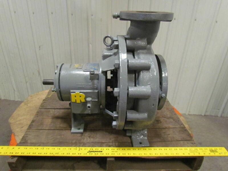 Ingersoll Rand HOC 6x4x10 Iron Centrifugal Pump Standard Pump Aldrich Div.