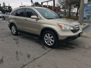 2008 Honda CR-V EXL,LEATHER,S/ROOF,SAFETY+3YEARS WARRANTY INCLUD