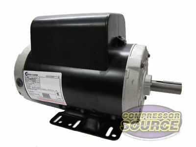 New 5 HP 3450 RPM Air Compressor 60 Hz Electric Motor 208-230 Volts Century B386