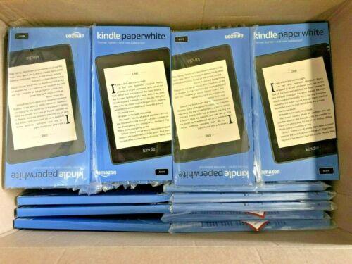 "New Amazon Kindle Paperwhite (10th Generation) 8GB, Wi-Fi, 6"" eBook Reader Black"