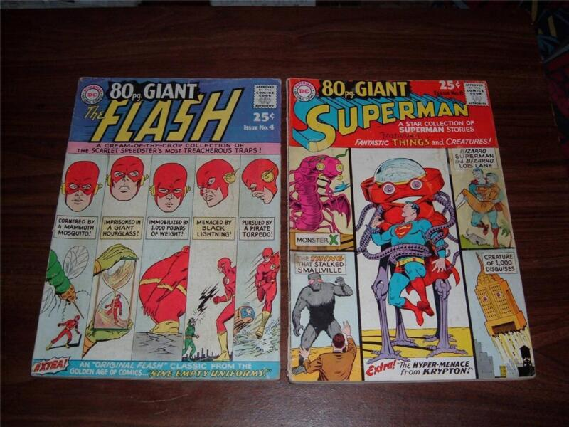 Eighty-Page Giant 4, 6, 10 all g+ condition  --- lot of 3 comic books