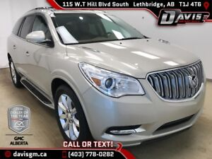 2015 Buick Enclave Premium AWD, 7 PASSENGER, HEATED/COOLED LE...