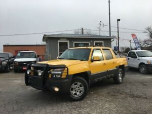 2003 Chevrolet Avalanche Z71 4X4 HEATED PWR LTHR SEATS CERTIFIED