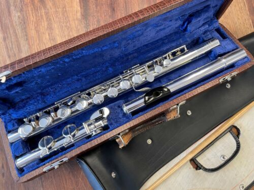 Pre Owned Philipp HAMMIG ALTO FLUTE - Repadded PERFECT - Ships FREE WORLDWIDE