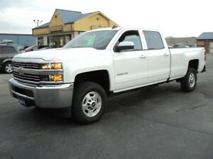 2017 Chevrolet Silverado 2500 LT CrewCab 4X4 6.0L 8ft Box
