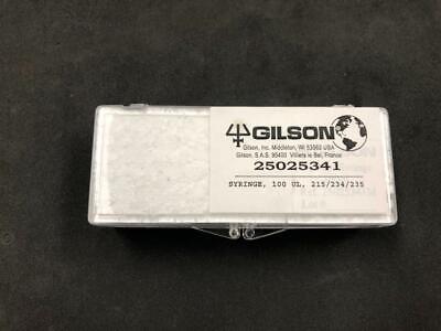 Gilson 100 Ul Syringe For Hplc New