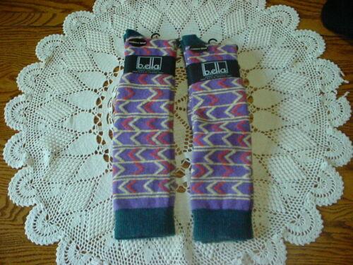 2 Pair B.ELLA  Wool/Cashmere Blend Knee High Women