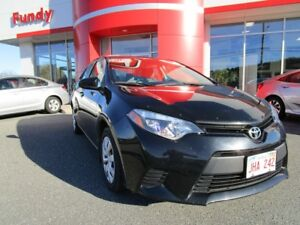 2014 Toyota Corolla LE w/Front Heated Seats, Backup Cam, $132.80
