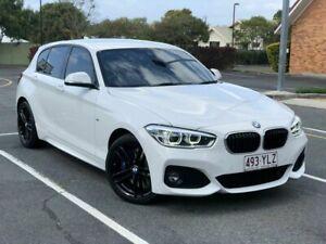 2018 BMW 1 Series F20 LCI-2 125i M Sport White 8 Speed Sports Automatic Hatchback