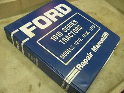 Ford 1010 Series 1310 1510 1710 Tractor Service Repair Manual Original