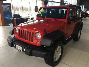2014 Jeep WRANGLER SPORT 4X4! 6-Speed Manual! New Tires! New Tir