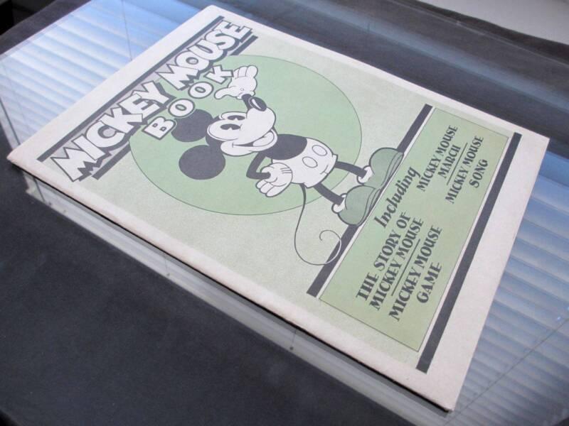 Mickey Mouse Book BIBO & LANG 1930 Disney - EXTREMELY RARE - 1 of The Top GRADES