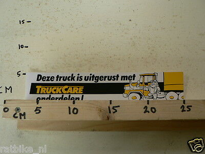 STICKER,DECAL TRUCKCARE ONDERDELEN