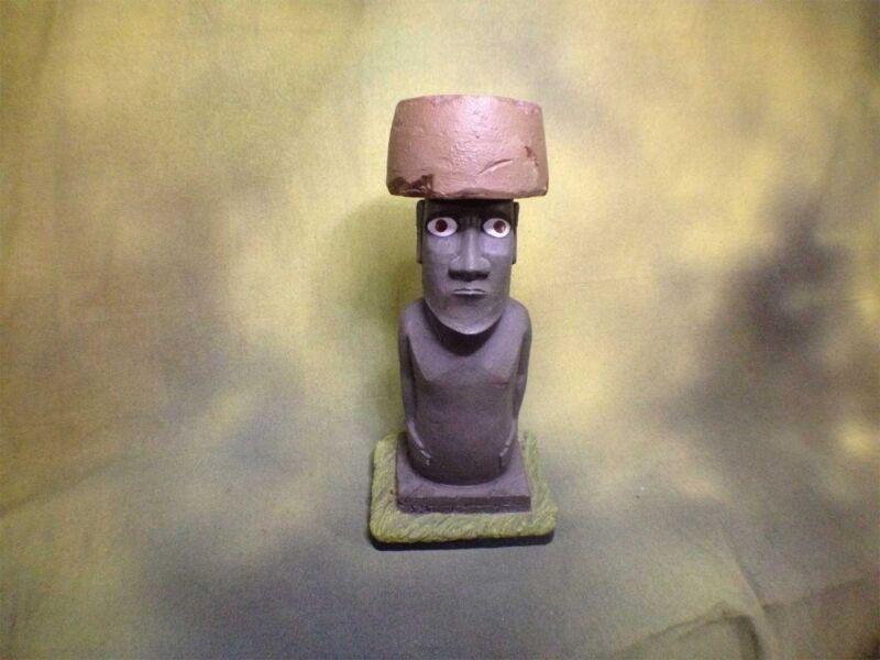 Easter Island Statue Rapa Nui, Kon Tiki, Resin, Type B