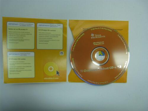 Ti Graphing Product Software CD v. 1.3 TI-83 & TI-84 Plus