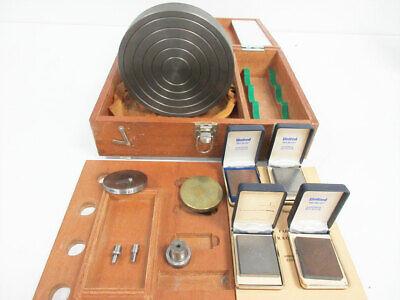 Mitutoyo Hardness Tester Set 200mm Uts Tru-blue Test Block