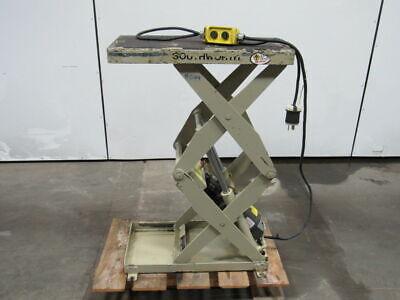 Southworth Ls05-30 500lb Cap. Hydraulic Scissor Lift Table 12x24 6-36 Height