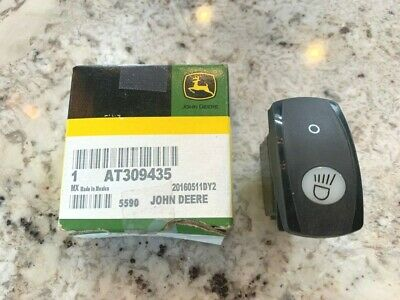 John Deere 1 New Oem Work Light Toggle Switch At309435 For Various Skid Steers