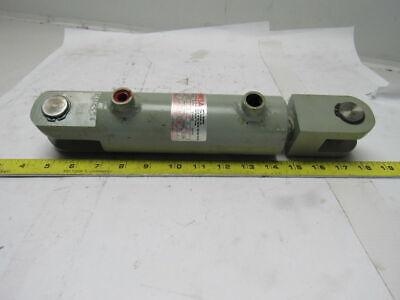 Loramendi Welded Hydraulic Cylinder 40mm Bore 90mm Stroke Clevis Ends