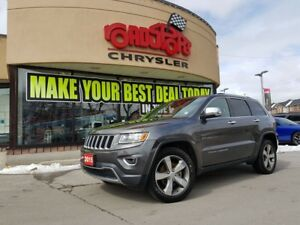 2015 Jeep Grand Cherokee Limited NAVI P-ROOF REAR CAM 20'S 2 YR