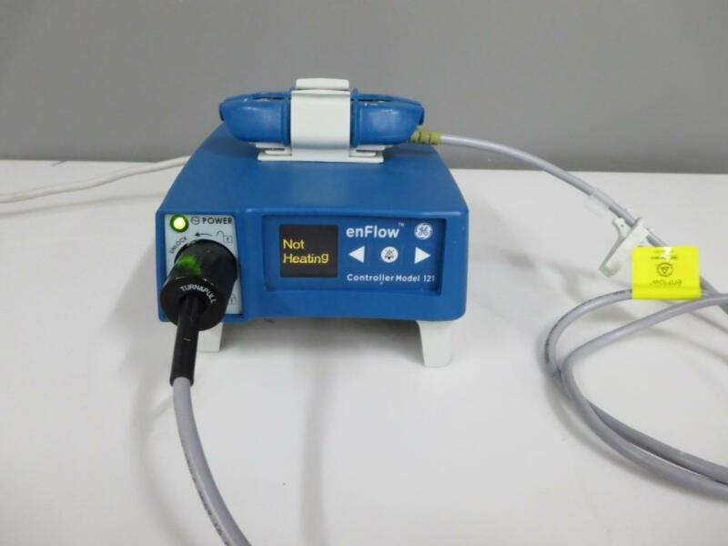 GE enFlow Controller 121 980121EU & IV Fluid Blood Warmer Model 100 980105VSD