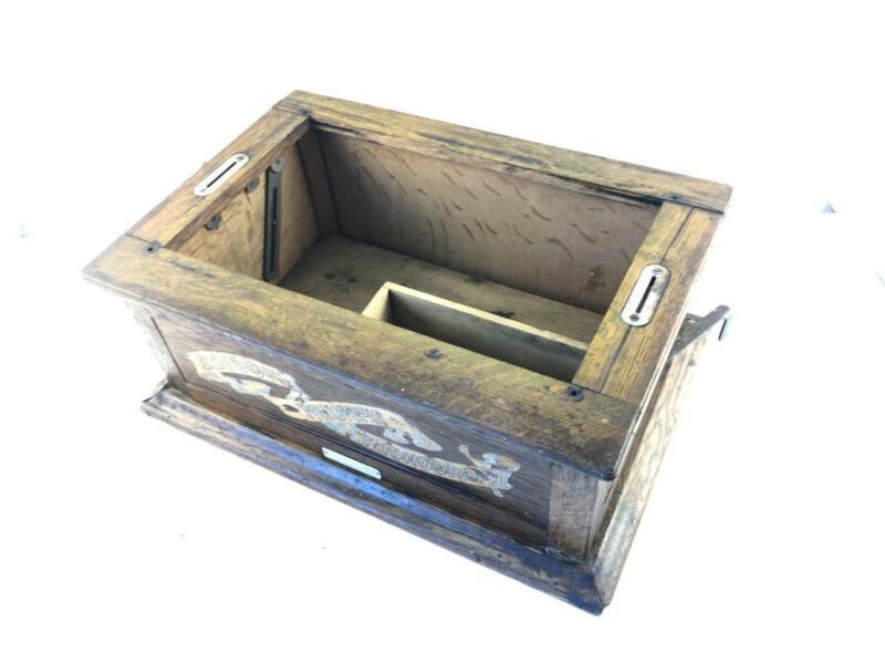 Project - Antique Case Bottom for Edison Triumph Phonograph Model A