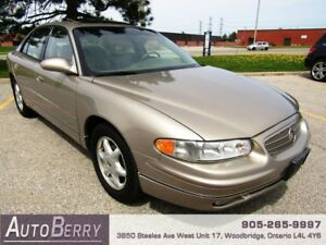 2003 Buick Regal LS ***CERTIFIED ACCIDENT FREE LOW KM*** $4,999
