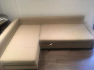 Ikea sectional couch with pull out