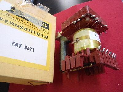 RARITÄT! ZEILENTRAFO KÖNIG FAT 3671  ca. 85x58x75mm line-transformer    24722