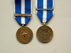 ONE Full Size Medal for the NATO KOSOVO Medal