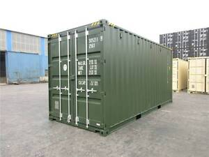 20' New Build / One Trip Shipping Containers on SALE ex SYD Eastern Suburbs Preview