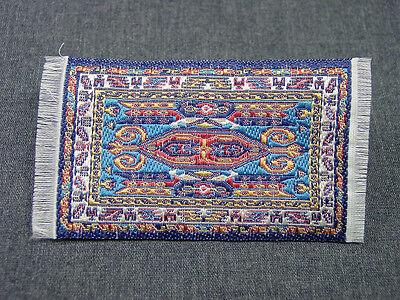 "2""x3"" #2  Heidi Ott Dollhouse Miniature Floor  Carpet  Woven Rug  #XZ354-2"