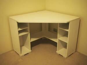 IKEA white corner desk Perth Perth City Area Preview
