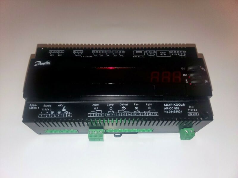Danfoss Controller AK-CC 550 115v