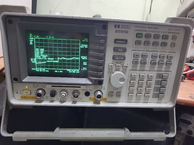 Agilent Hp 8596e Spectrum Analyzer Opt 004101130010024 W Tracking Generator