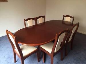 Dining Table & 6 Chairs South West Rocks Kempsey Area Preview
