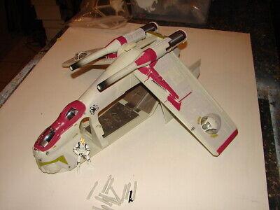 Star Wars HASBRO 2002 Republic Gunship Clones attack of the Clones EII NC   520