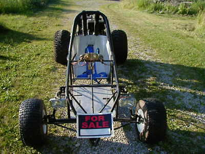 32 hp Go Kart 2 B&S 16hp V-Twin Engines Electric and Recoil start Chrome Moly FR
