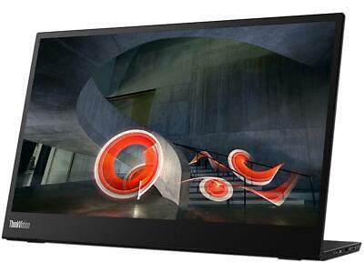 "Lenovo ThinkVision M14 14"" Full HD 1920 x 1080 6ms 2xUSB Type-C Ports WideScreen"