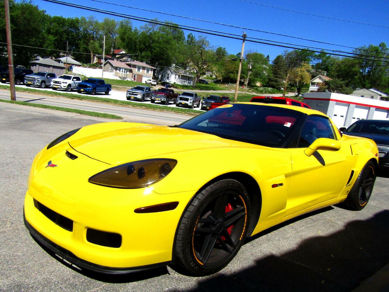2006 Yellow Chevrolet Corvette Z06  | C6 Corvette Photo 6