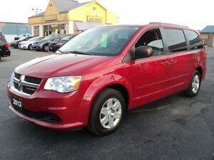 2013 Dodge Grand Caravan SXT 3.6L Stow-N-Go 7 Pass