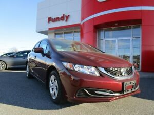 2015 Honda Civic LX w/heated front seats, backup cam, $135.84 B/