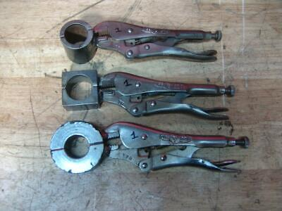 3 Vise-grips Welding Clamps For Pipe Fusion Machine 1