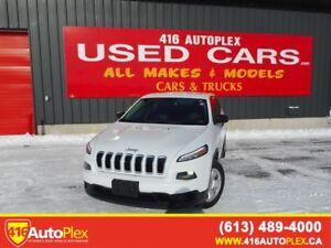 2015 Jeep Cherokee Sport 4 WHEEL DRIVE