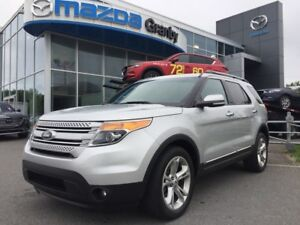 2014 Ford Explorer LIMITED*CUIR*MAGS*6 PASS*TOIT PANO*NAV*FREINS