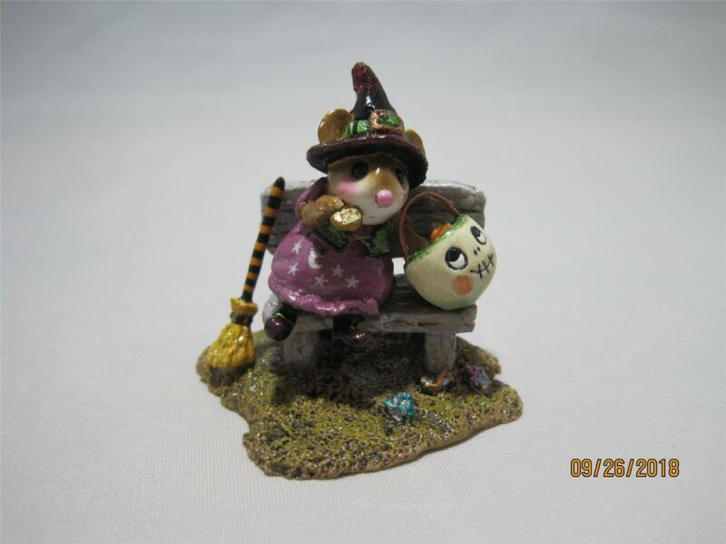 Wee Forest Folk Time Out for Treats! - Retired Halloween WFF - New in Box