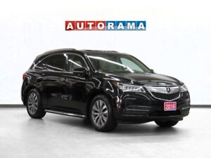 2016 Acura MDX 4WD Navigation Leather Sunroof Backup Cam 7-Pass
